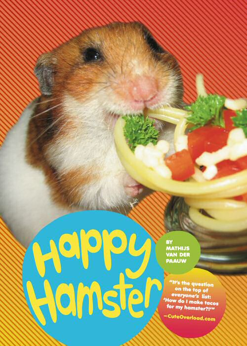 """Happy Hamster""-Book cover"