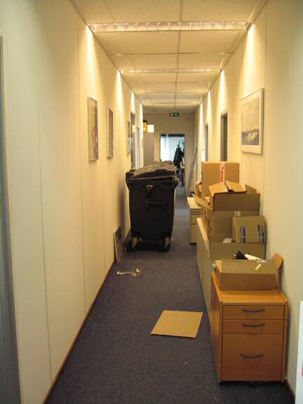 The office I work every day is moving!.