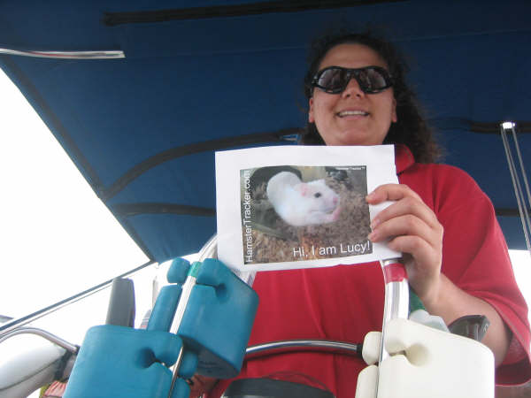 DIY Extreme HamsterTrackin' by Michelle on Lake Ontario, (near) Toronto, Canada!
