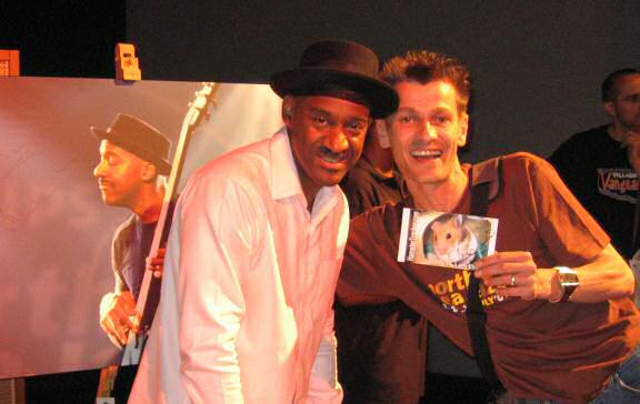 Extreme HamsterTrackin' at the North Sea Jazz festival 2007 with Marcus Miller!